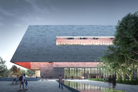 Adjaye Associates and BVN's concept design for the Adelaide Contemporary gallery