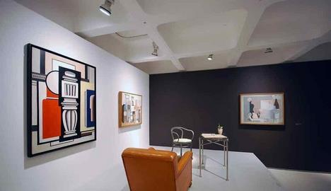 Le Corbusier – The Art of Architecture, Installation shots at the Barbican Art Gallery