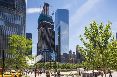 Rogers Stirk Harbour and Partners' 3 World Trade Centre