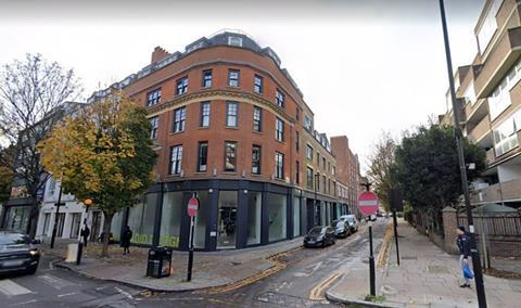 Zaha Hadid Architects offices on Goswell Road - Google Maps