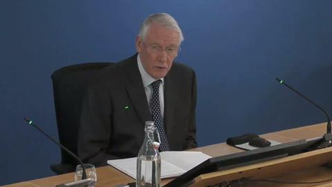 Grenfell Inquiry chair Martin Moore-Bick