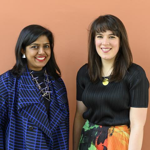 Manijeh Verghese & Madeleine Kessler, curators of British Pavilion 2021 SM Image credit - Cristiano Corte