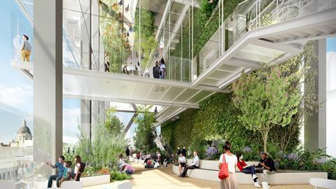 55 Gracechurch Street_Public Garden Terrace_CREDIT Fletcher Priest Architects