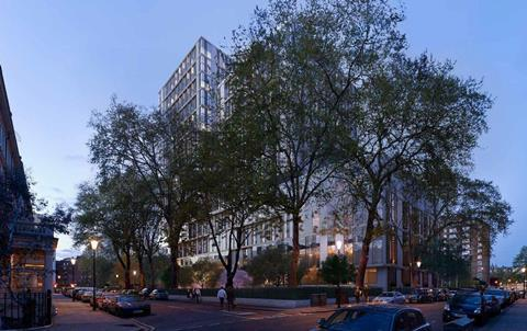 Kensington Forum Hotel scheme