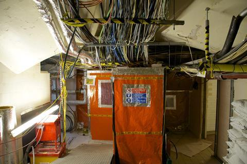 Dilapidated condition of palace of westminster one of biggest problems is asbestos throughout building c uk parliament