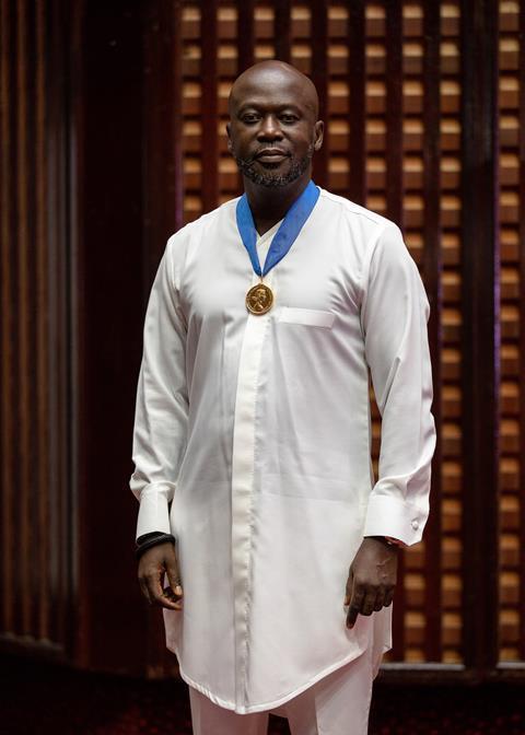 David Adjaye receives the RIBA Royal Gold Medal 1