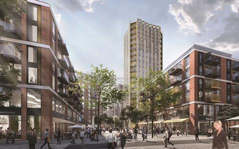 Broadway Malyan's revised Anglia Square project in Norwich 3