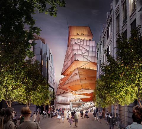 Diller Scofidio & Renfro's proposed Centre for Music
