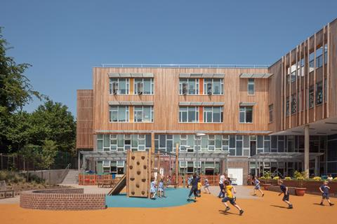 Ashmount Primary School, by Penoyre&Prasad