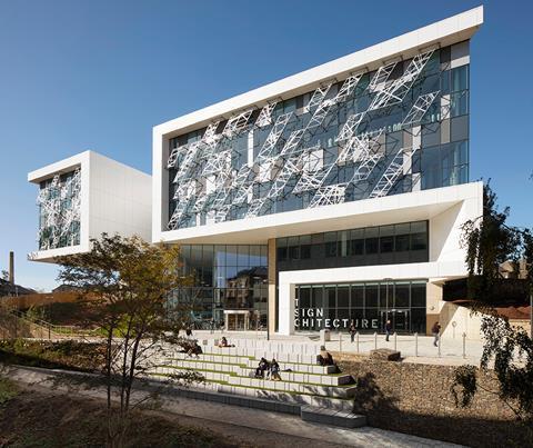 AHR Architects' Hepworth Building at Huddersfield University