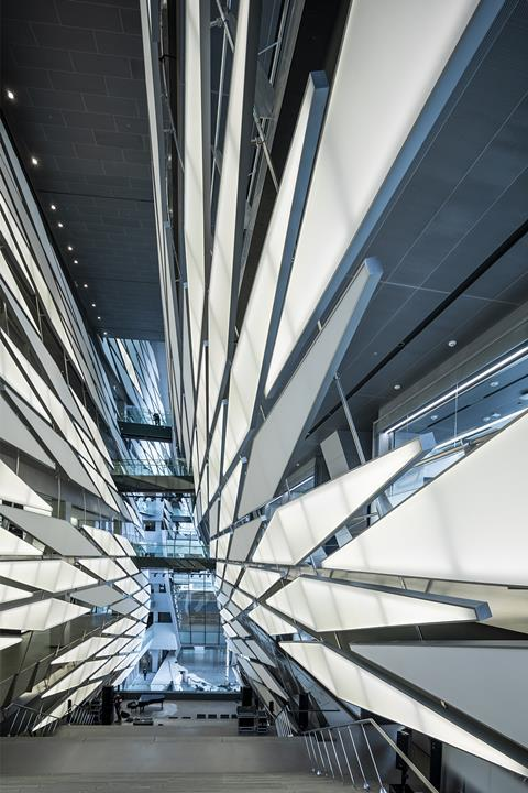 Kolon One and Only Tower in Magok, Seoul by Morphosis Architects