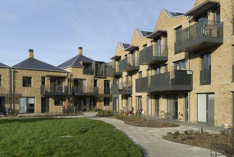 New Ground, High Barnet, designed by PTE Architects for OWCH N15 (Older Women's Co-Housing group)