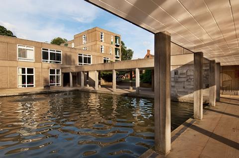 Open pool at Derwent, University of York, by RMJM