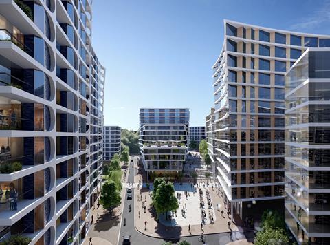 Zaha Hadid Architects' proposal for Bristol's Temple Island