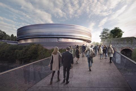 Bristol Arena proposal by Populous