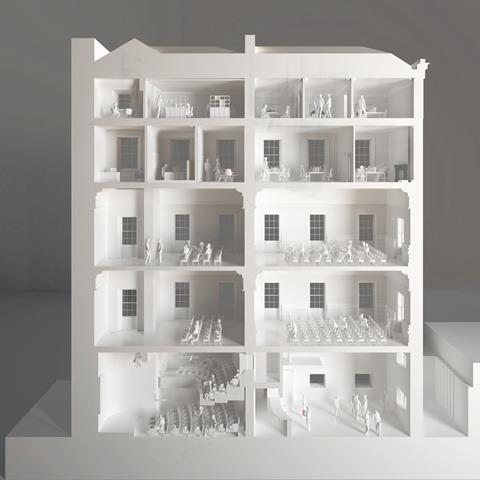 Wright Wright Starts Work On British Academy Refurb News Building Design