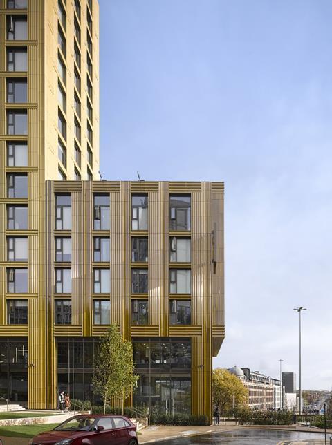 St Albans Place student flats in Leeds by Feilden Clegg Bradley Studios