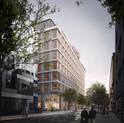 02 Piercy&Company_Network Building_View along Howland Street_CGI by Studio Archetype (1)