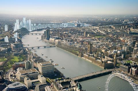London future skyline