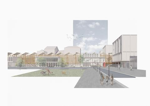 North Manchester General Hospital by Sheppard Robson