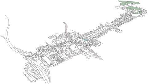 Peckham sketches Spheron Architects