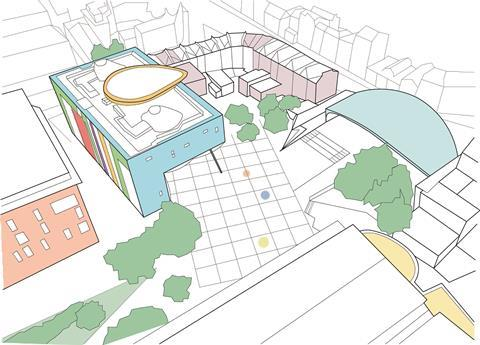 Peckham Square Drawing Spheron Architects