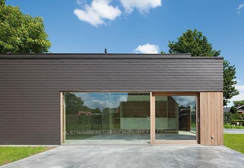 The fixing system for Marley Eternit's Vertigo cladding range allows extra insulation to be specified where required