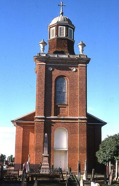 Greenway's St Matthew's Church in the Sydney suburb of Windsor
