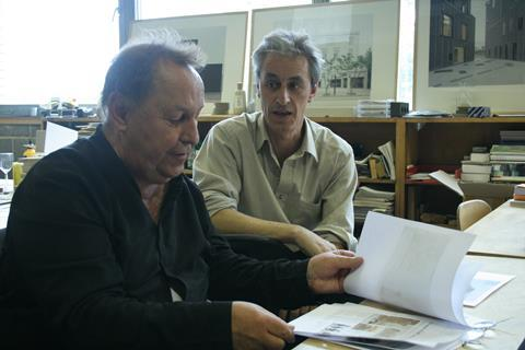 Florian Beigel with Philip Christou