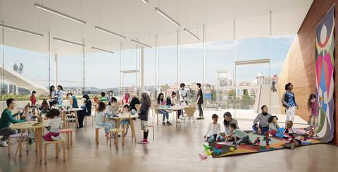AGNSW_SMP_Learning studio_Art Gallery of New South Wales Sydney Modern Project by Sanaa