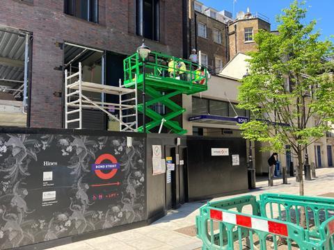 Bond Street station_Elizabeth Hopkirk