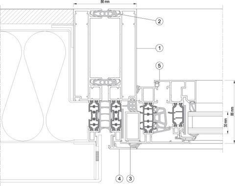 CW 86-EF/HI horizontal section B