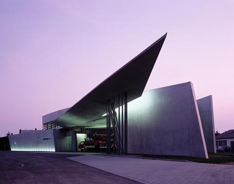 Vitra Fire Station, Weil am Rhein, Germany