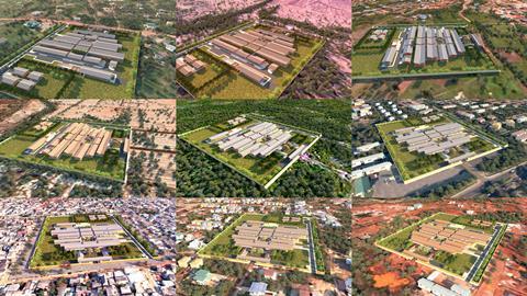 Aerial View_Multiple Sites_Adjaye Associates