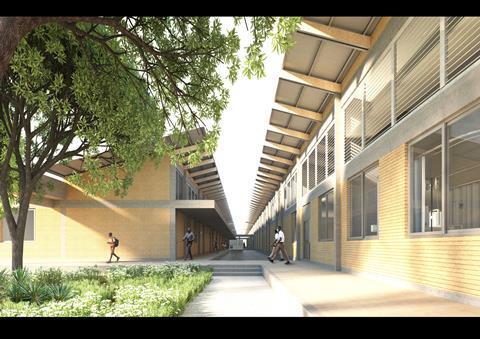 District Hospitals_Public Garden and Circulation_Adjaye Associates