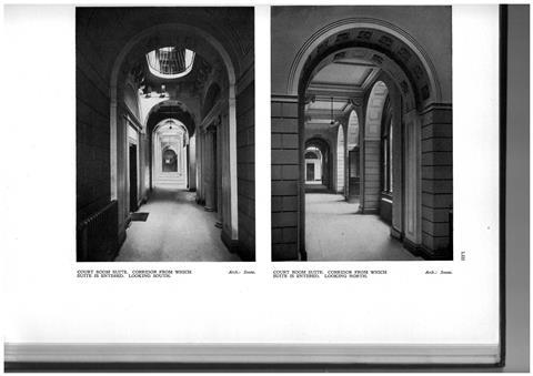 Yerbury's photographs of Soane's now-destroyed Bank of England