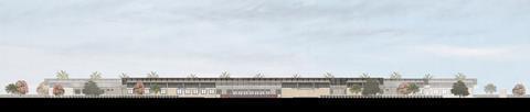 District Hospitals_North Elevation_Adjaye Associates