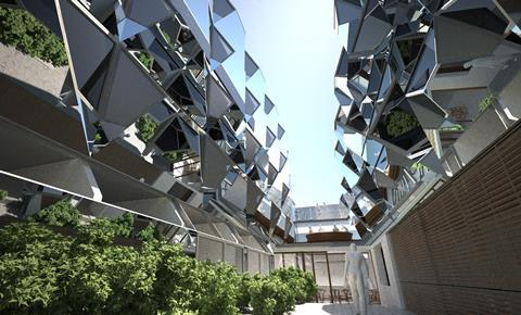 Knox Bhavan Architects' shortlisted proposals for Bedü