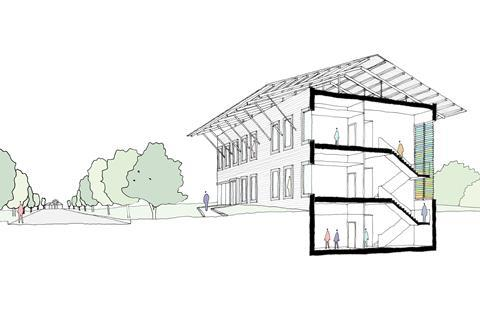 Manser Practice wins German embassy competition | News | Building Design