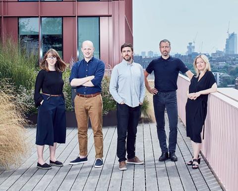 Morris & Company top team: (Left-to-right) Charlotte Sorensen, Keir Regan-Alexander, David Storring, Joe Morris, Miranda MacLaren
