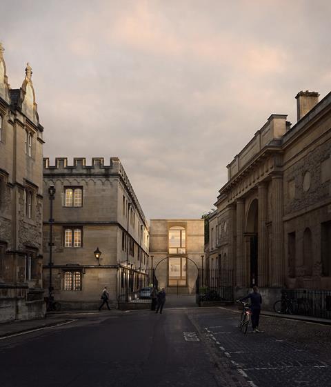 Corpus Christi Oxford-Exterior_ © Wright & Wright Architects_crop
