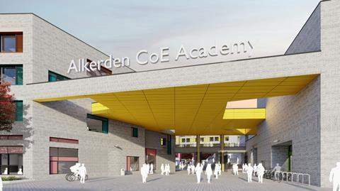 Alkerden CoE Academy - Fastrack Secondary School entrance © LEP (1)