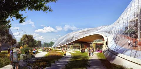 Google's new headquarters designed by BIG and Heatherwick Studio