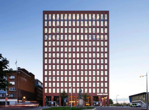 Thames Tower in Reading, remodeled by DN-A Architects