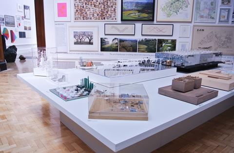 RA Summer Exhibition architecture gallery 2015