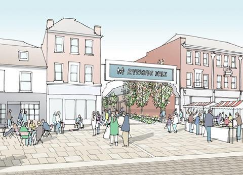 JTP plan for Winchester - Riverside Walk