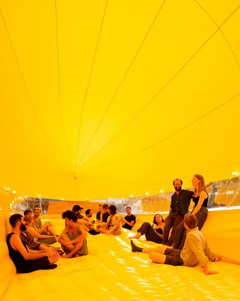 Antepavilion 2 - AirDraft by Benedetta Rogers and Thomas Randall-Page