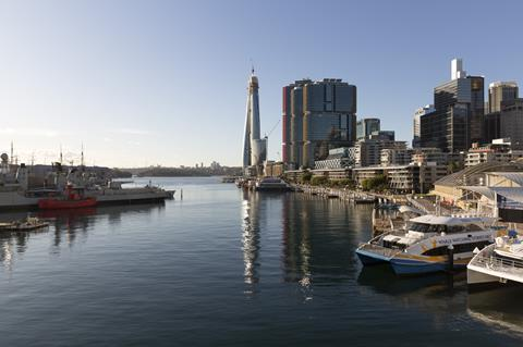 Wilkinson Eyre Barangaroo building tops out in Sydney_Crown-170
