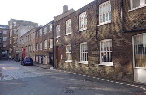 A remnant of Gresse Street mews in Fitzrovia - 'old-school public space'