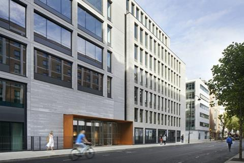 Make Architects' 80 Charlotte Street mixed-use project, which completed last year